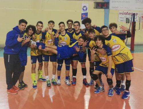 Volley, l'Under 16 maschile corsara a Foligno